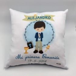 COJÍN COMUNIÓN NIÑO