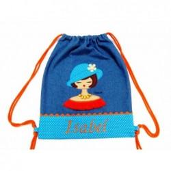 "Mochila Pinuka1 Azul ""Personalizada"""